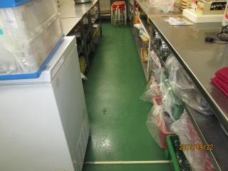 厨房内清掃