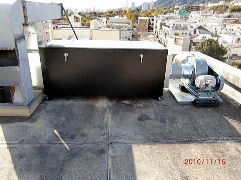 排気処理装置・消臭装置